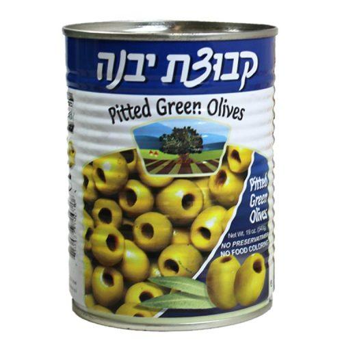 Kvuzat Yavne Green Olives Pitted 540G