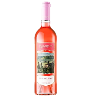 Rambam Moscato Rubino Rose 750Ml