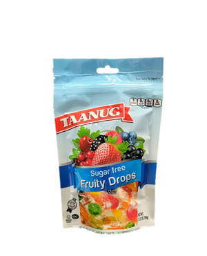 Taanug Fruity Drops Sugar Free 99g
