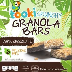 Tooki Dark Chocolate Bars 6pk