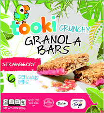 Tooki Strawberry Granola Bars 6pk