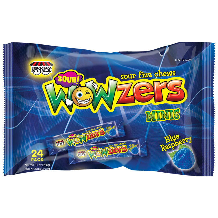 Paskesz Wowzers Blue Raspberry Family Pack 288G