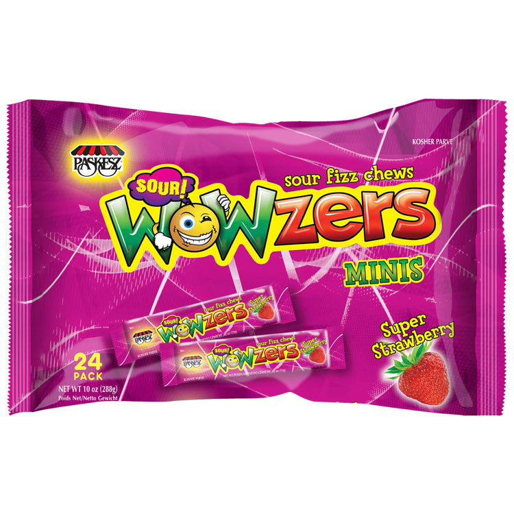 Paskesz Wowzers Strawberry Family Pack 288G