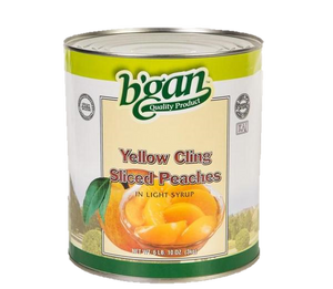 Eden Bulk Peach Sliced In Light Syrup 3Kg (A10)