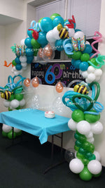 Balloon Half Arc Decoration - Lapeoni Flowers and Events