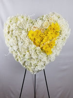 Peace and Comfort Sympathy Wreath - Lapeoni Flowers and Events