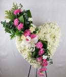 Always In My Heart Sympathy Wreath - Lapeoni Flowers and Events