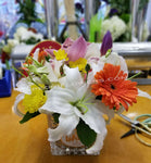Blooms on Vases - Lapeoni Flowers and Events