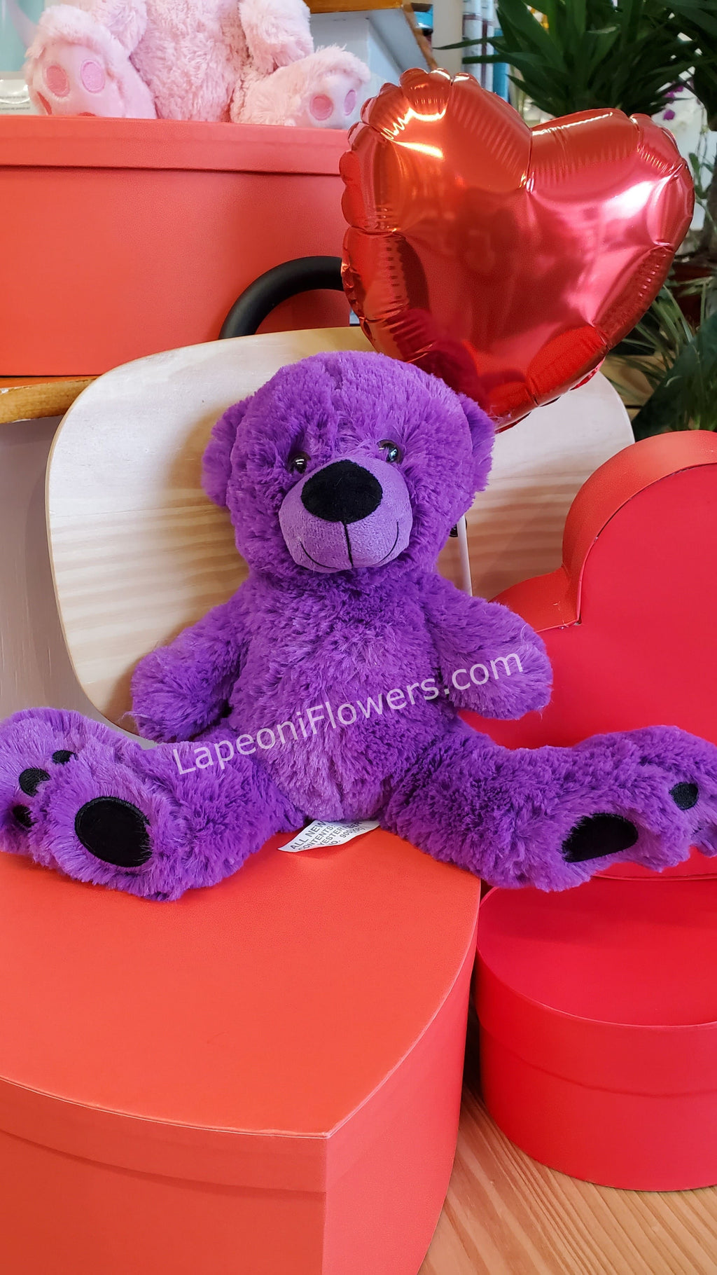 Bear Foot Plush - Lapeoni Flowers and Events
