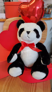 Panda Bear Plush - Lapeoni Flowers and Events