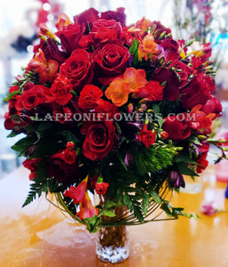 Sincerely Yours Rose Bouquets - Lapeoni Flowers and Events