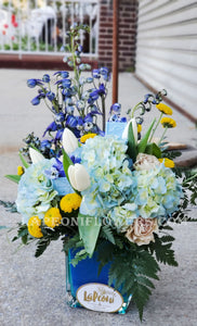 Something Blue Bouquet - Lapeoni Flowers and Events