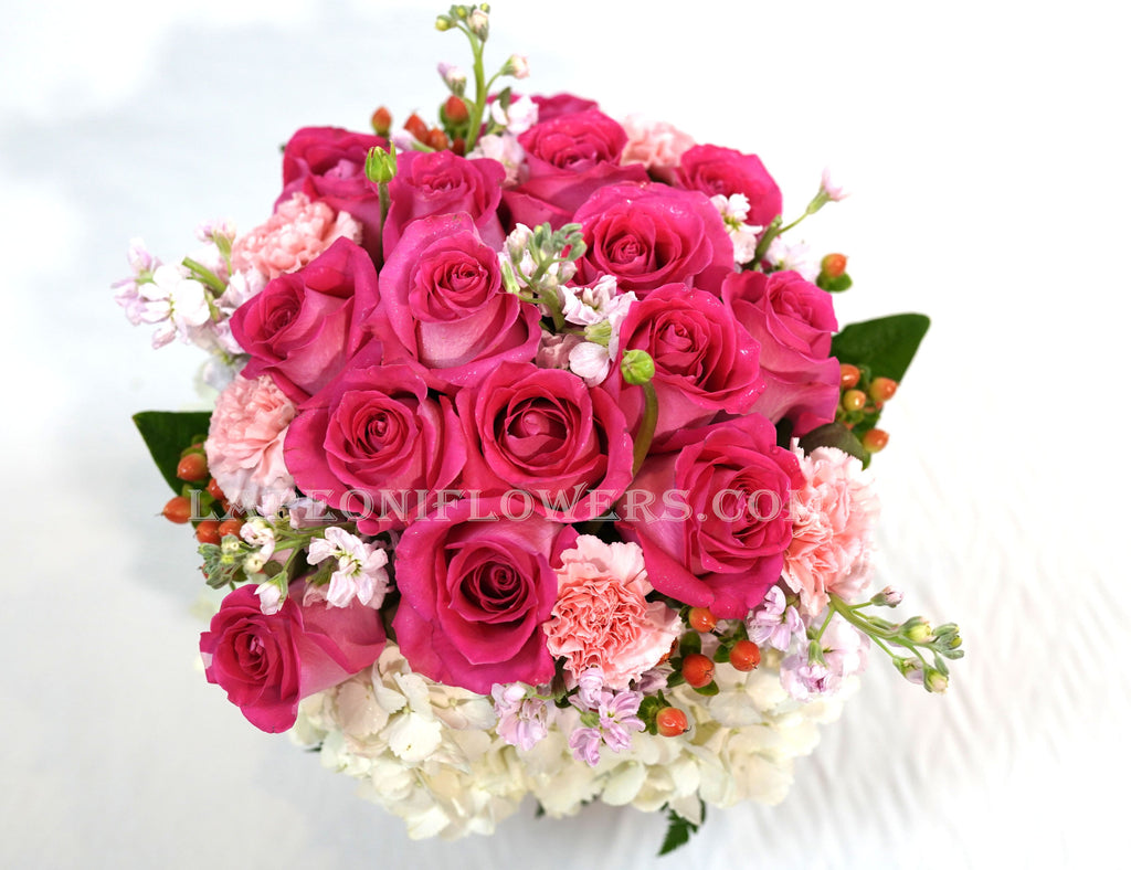 Valentine's Pink - Lapeoni Flowers and Events