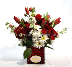 Roses and Tulips of Love - Lapeoni Flowers and Events