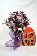 Shades of Purple - Lapeoni Flowers and Events