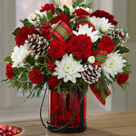 Holiday bouquet - Lapeoni Flowers and Events