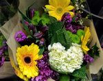 Colorful Hand-tied Bouquet - Lapeoni Flowers and Events