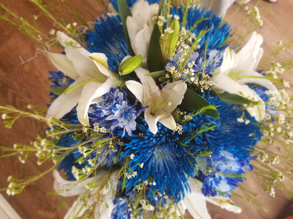 Blue Beauty - Lapeoni Flowers and Events