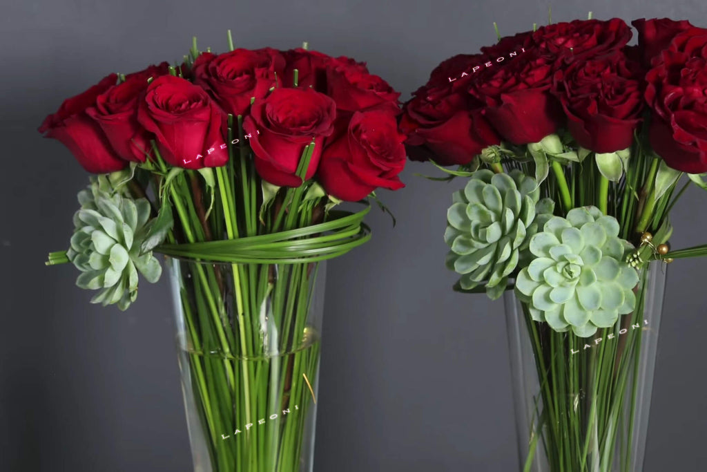 Dozen Roses - Lapeoni Flowers and Events
