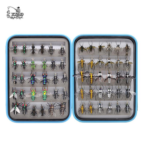 Realistic Mosquito House Fly Fishing Flies Set 48 / 60 pcs
