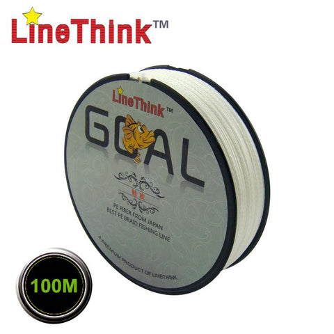 100M 100% PE Braided Fishing Line