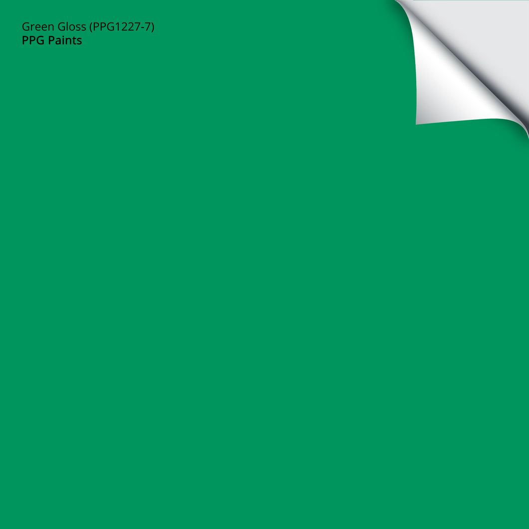Green Gloss (PPG1227-7): 12