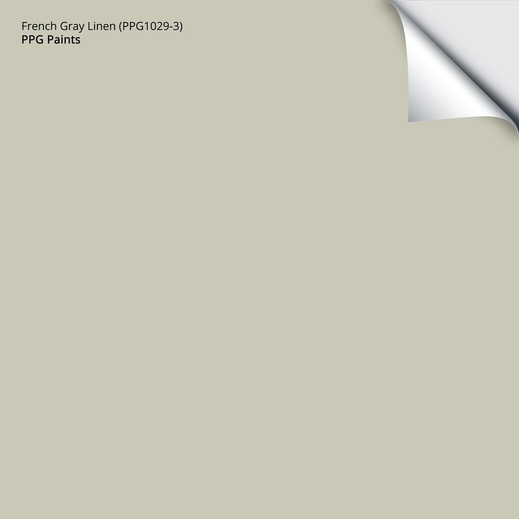 French Gray Linen (PPG1029-3): 12