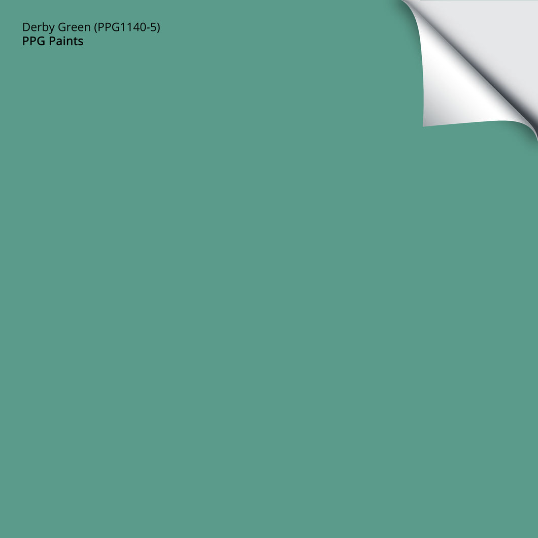 Derby Green (PPG1140-5): 12