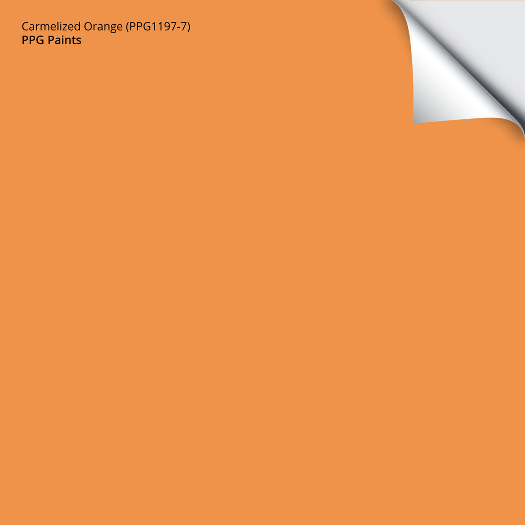 Carmelized Orange (PPG1197-7): 12