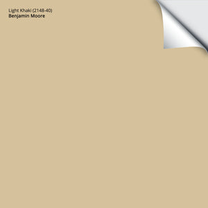 "Light Khaki (2148-40): 12""x12"""