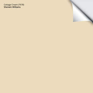 "Cottage Cream (7678): 12""x12"""