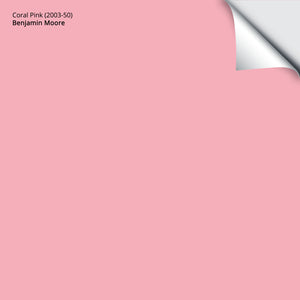 "Coral Pink (2003-50): 12""x12"""