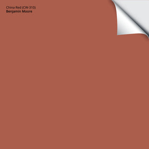 "China Red (CW-310): 12""x12"""