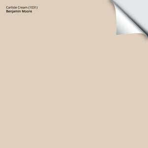 "Carlisle Cream (1031): 12""x12"""