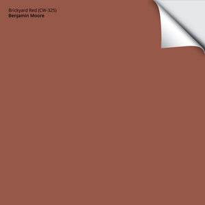 "Brickyard Red (CW-325): 12""x12"""