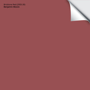 "Bricktone Red (2005-30): 12""x12"""