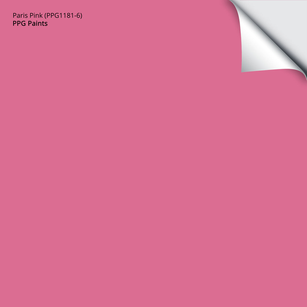 Paris Pink (PPG1181-6): 12