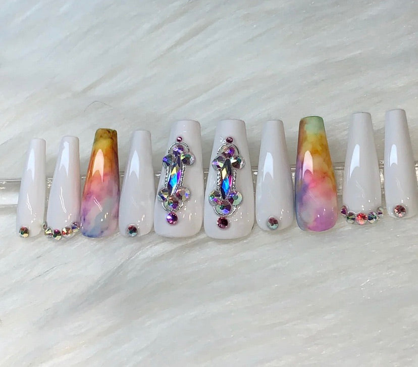 "Press On Nails - ""Spring Bling"""