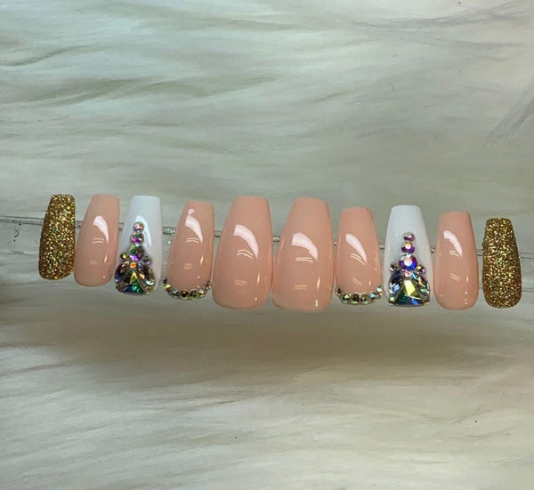 "Press On Nails ""Natural Baddie 2"""