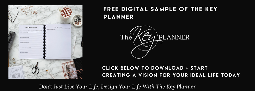 Download a FREE digital sample of The Key Planner