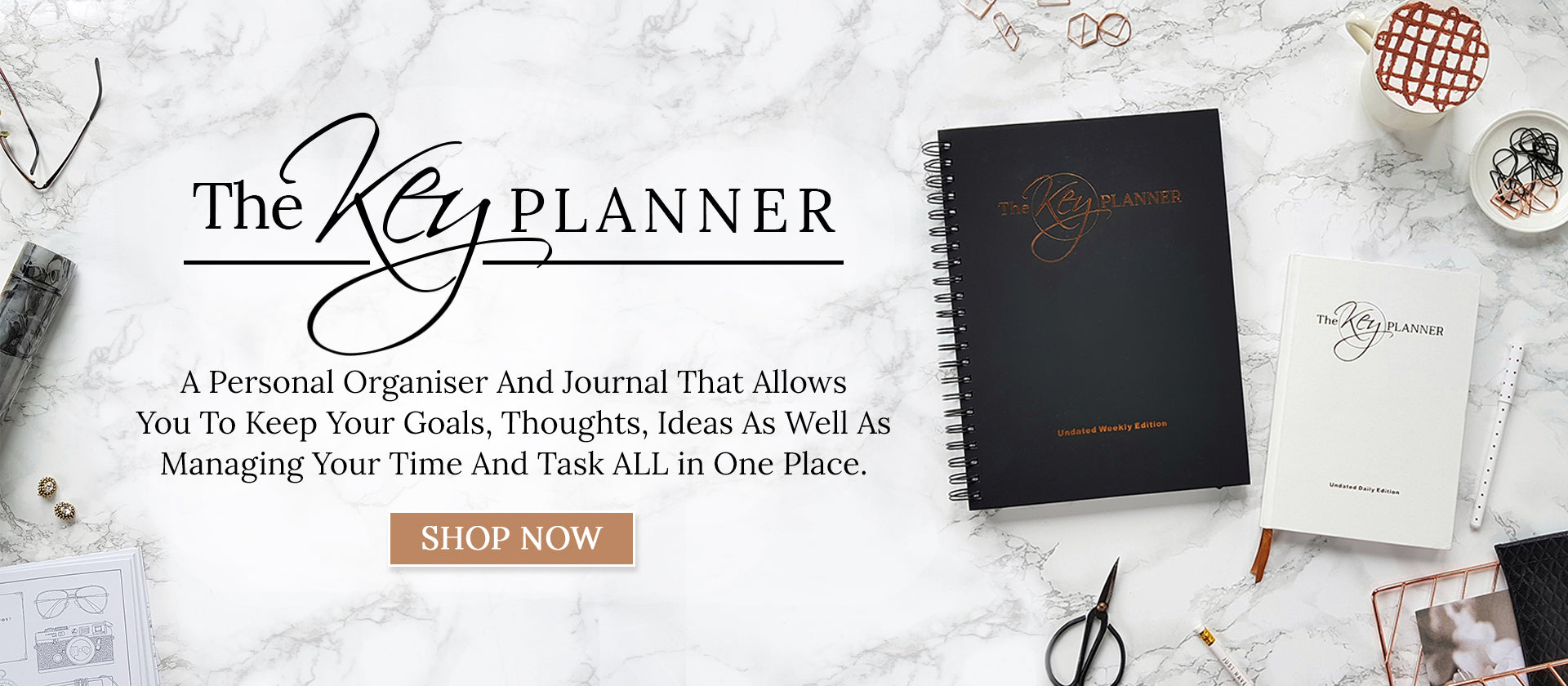 The Key Planner Personal Organiser and Journal
