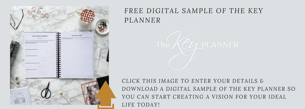 Download A FREE PDF Sample of The Key Planner