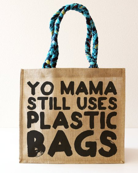 Gotcha Bag?  Plastic is so passé