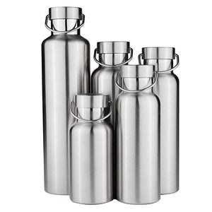 Gourde isotherme Gourde Isotherme 100% Inox 5 tailles