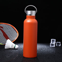 Gourde isotherme inox ISO IN 2T orange