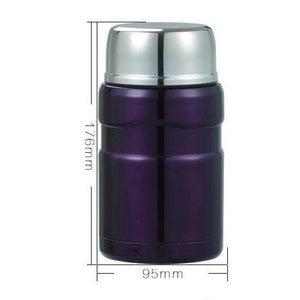 Lunch Box Lunch Box Thermos alimentaire Isotherme 550ml 4 couleurs