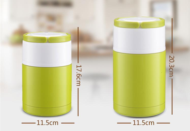 Lunch Box Lunch Box Thermos Isotherme 4 couleurs et 2 tailles