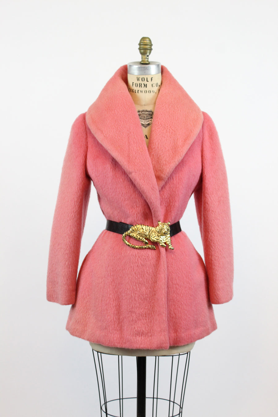 1950s Lilli Ann swing coat pink xs small | vintage jacket