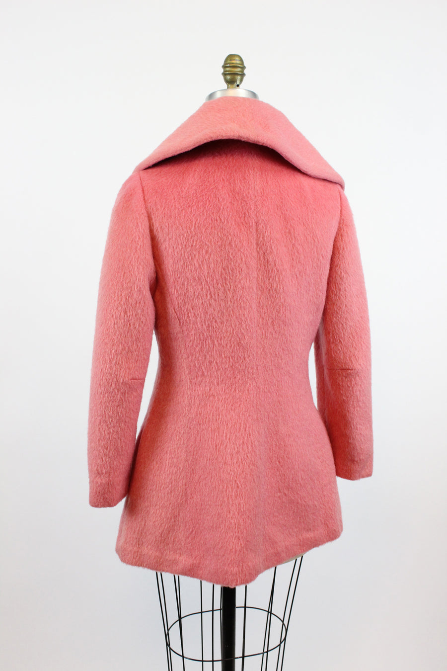 1950s Lilli Ann swing coat pink xs small | vintage jacket | new in