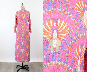 1970s Lanz EGYPTIAN print maxi dress medium | new spring